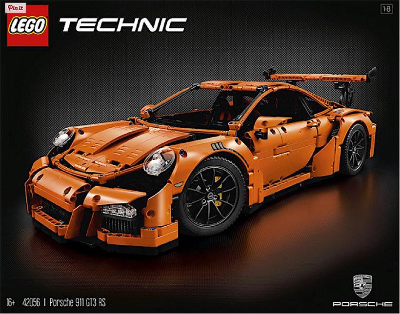 Lego Porsche 911 GT3 RS | Fanaticar Magazin