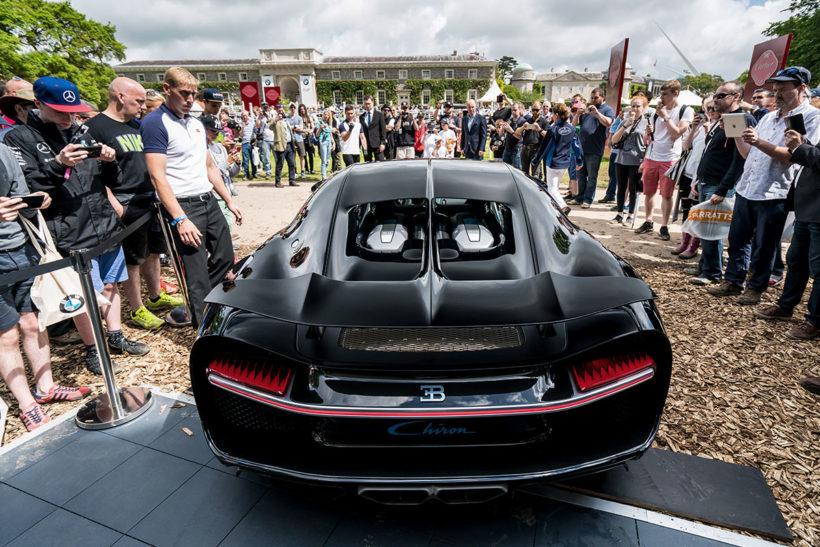 Bugatti Chiron Goodwood Festival of Speed   Fanaticar Magazin