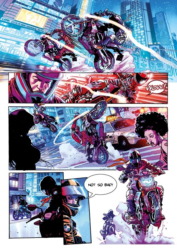 BMW Motorrad Graphic Novel | Fanaticar Magazin