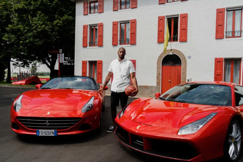 Kobe Bryant meets Ferrari | Fanaticar Magazin