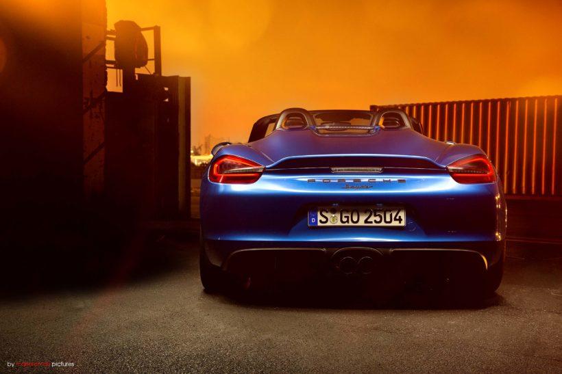 2016 Porsche 981 Boxster Spyder | Fanaticar Magazin