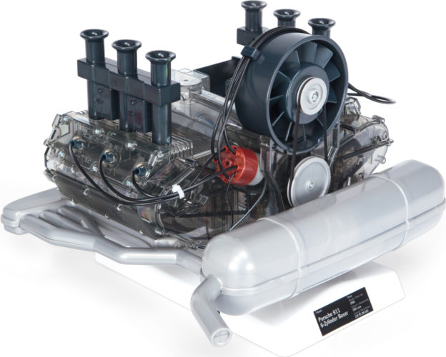 Porsche-Boxermotor-Bausatz von Franzis | Fanaticar Magazin