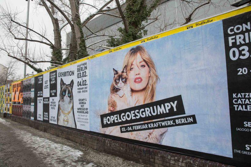 Opel Grumpy Cat Vernissage | Fanaticar Magazin