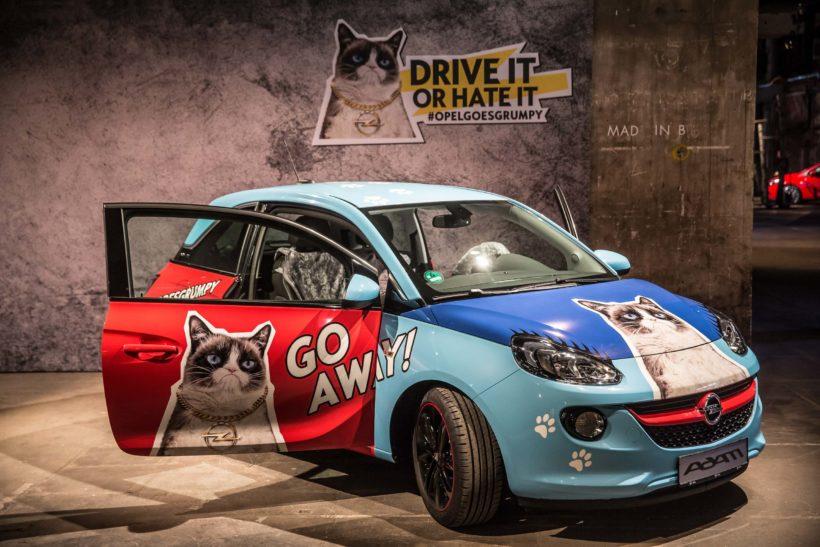 Opel Grumpy Cat Kalender | Fanaticar Magazin