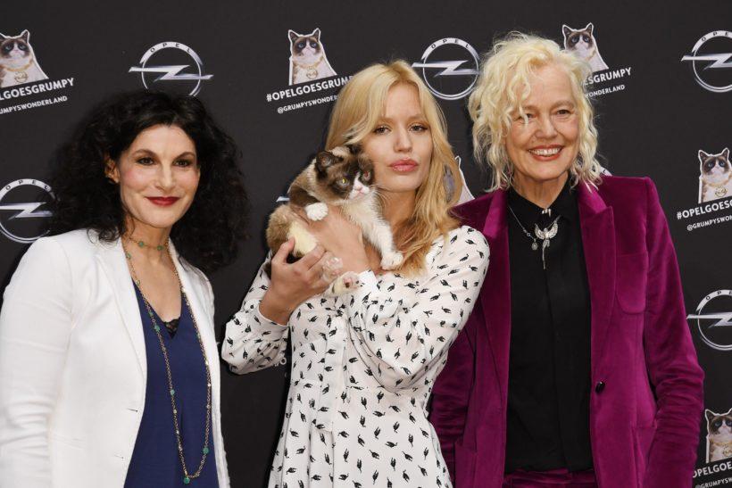 Tina Müller, Gergia May Jagger, Grumpy, Ellen von Unwerth