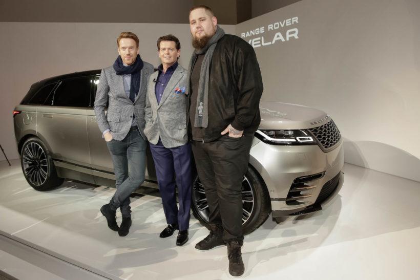 Weltpremiere Range Rover Velar im Londoner Design Museum