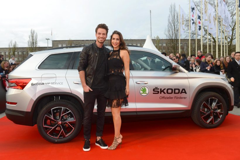 Skoda VIP Shuttle zum ECHO 2017