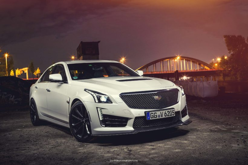 Frontansicht Cadillac CTS-V (2017) - Foto: MarioRoman Pictures für Fanaticar