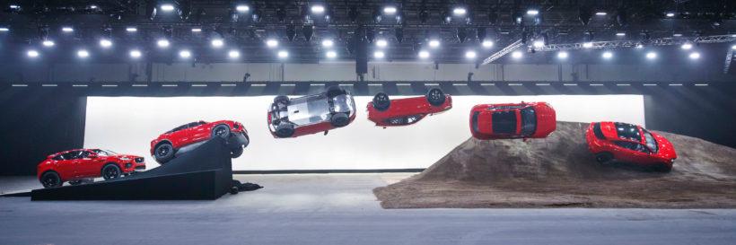 Weltpremiere des Jaguar E-Pace