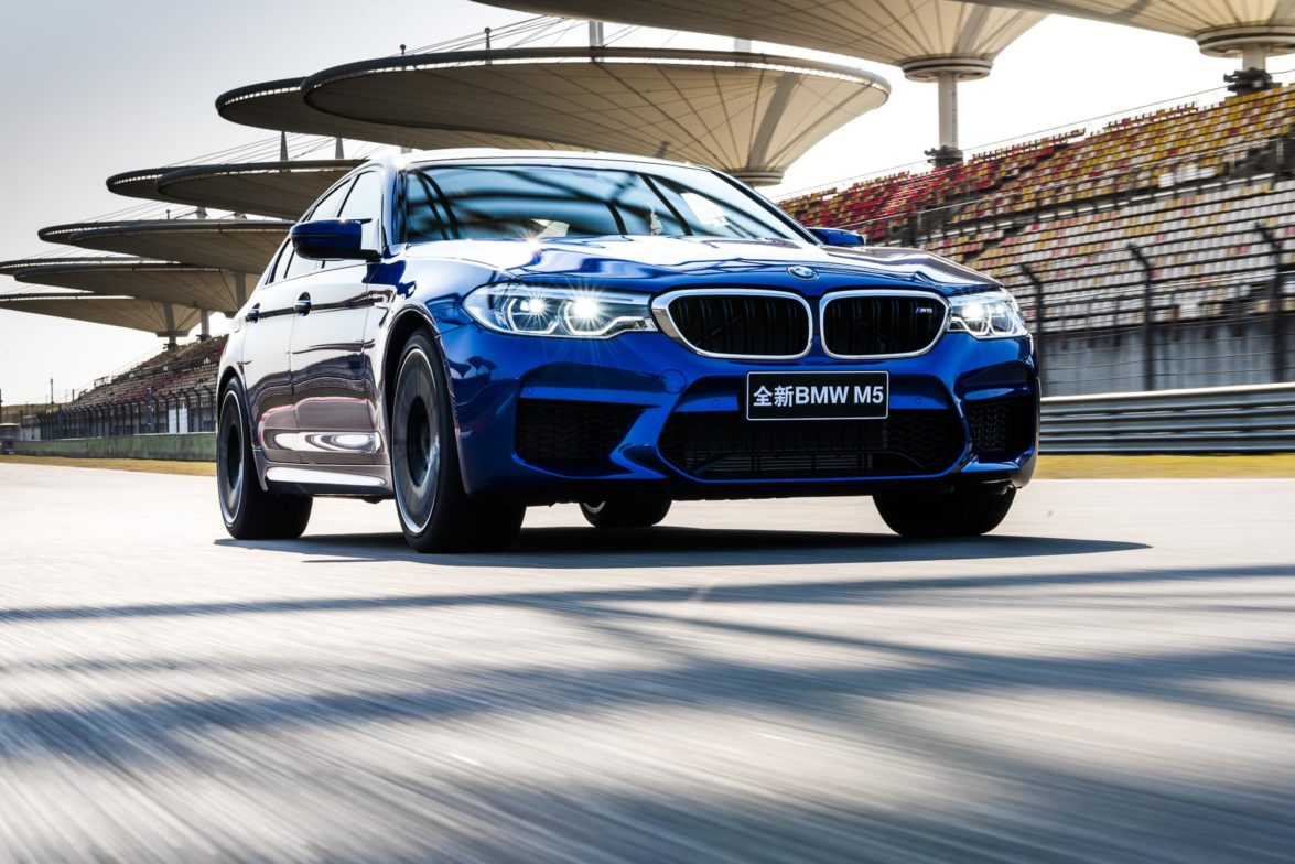 2018 BMW M5 - Shangai International Circuit