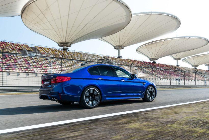 2018 BMW M5 - Shangai International Circuit