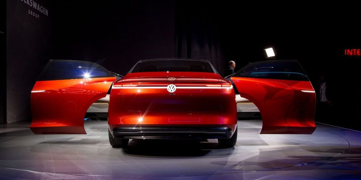 Genf Live: Volkswagen mit Weltpremiere des I.D. Vizzion