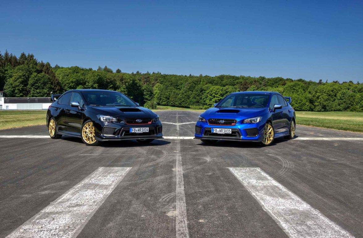 2018 Subaru WRX STI Final Edition