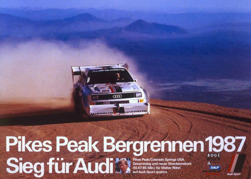 Audi mit legendären Rennwagen beim Eifel Rallye Festival in Dau