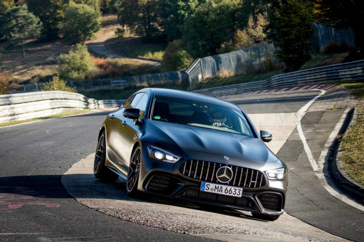 2019 Mercedes-AMG GT 63 S 4matic+ Nordschleifenrekord