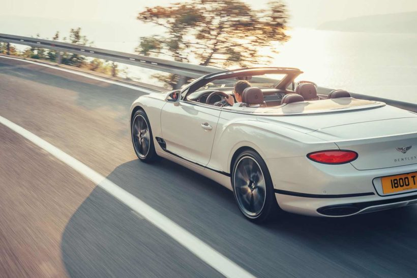2019 Bentley Continental GT Convertible - Fanaticar Magazin