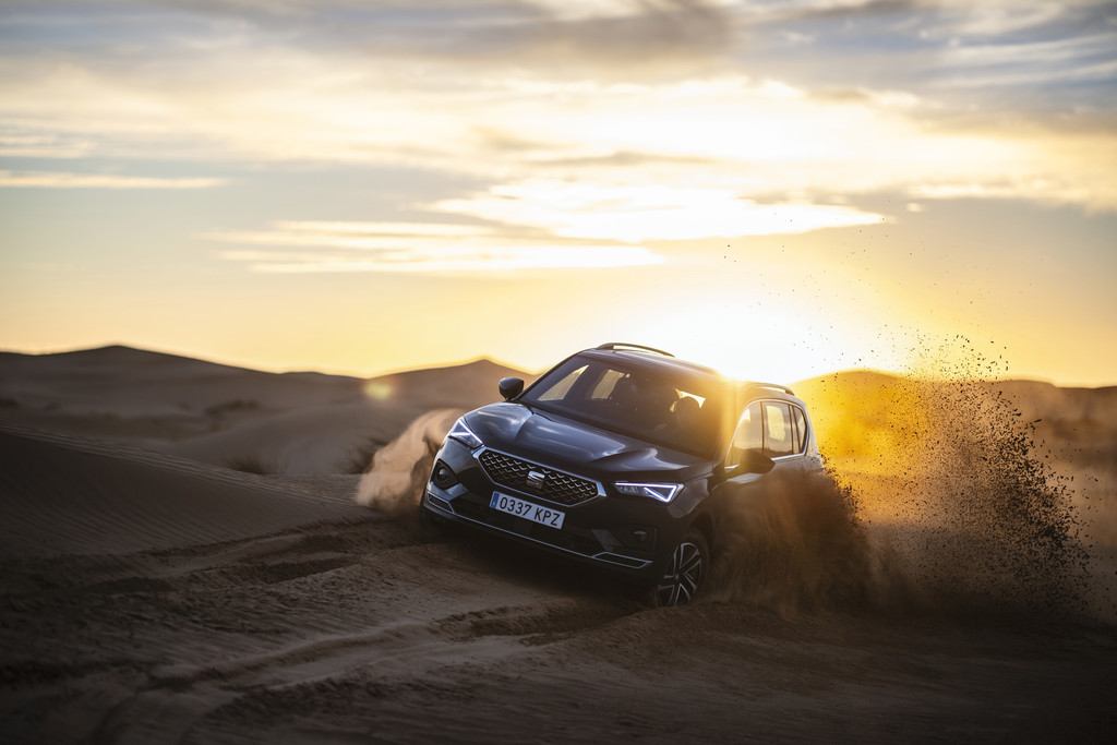2019 Seat Tarraco Wüste