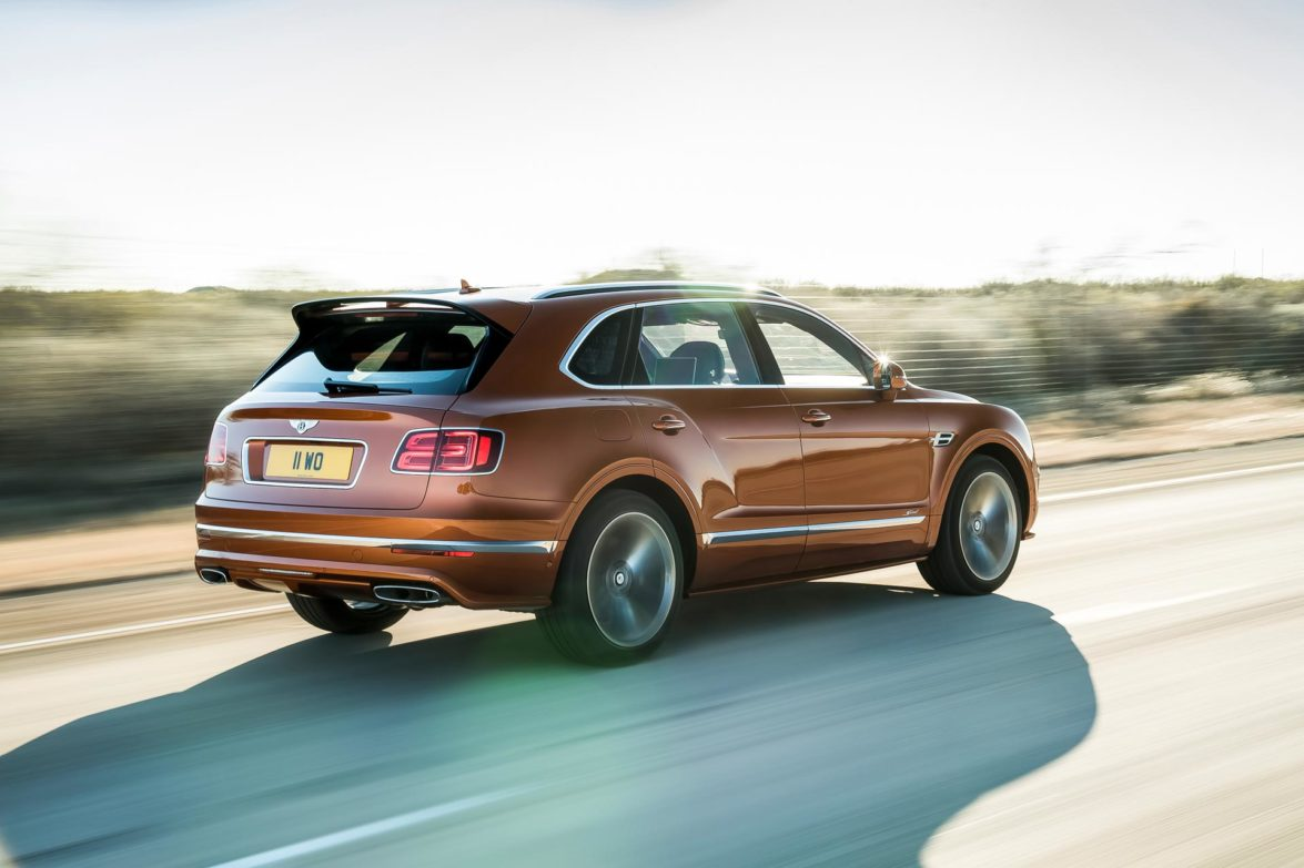 2019 Bentley Bentayga Speed - Fanaticar Magazin