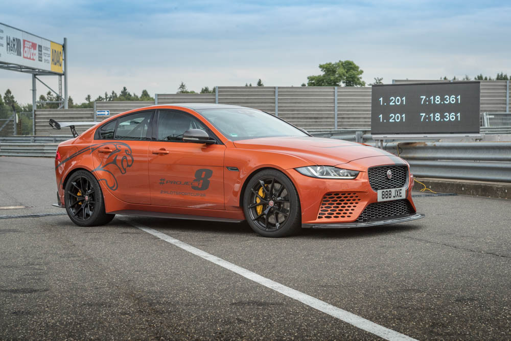 Jaguar XE SV Project 8 - Fanaticar