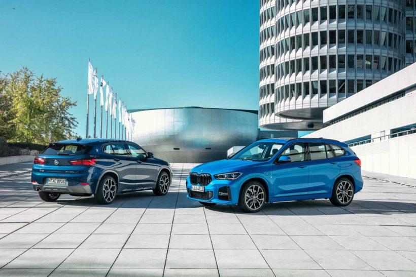 2020 BMW X1 x-Drive 25e und BMW X2 x-Drive 25e
