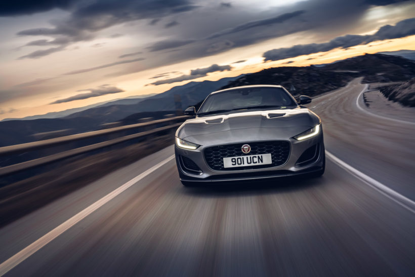 2020 Jaguar F-Type - Spotify