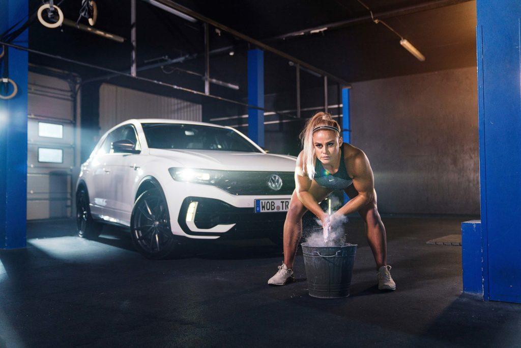 Volkswagen R Botschafterin Sara Sigmundsdottir