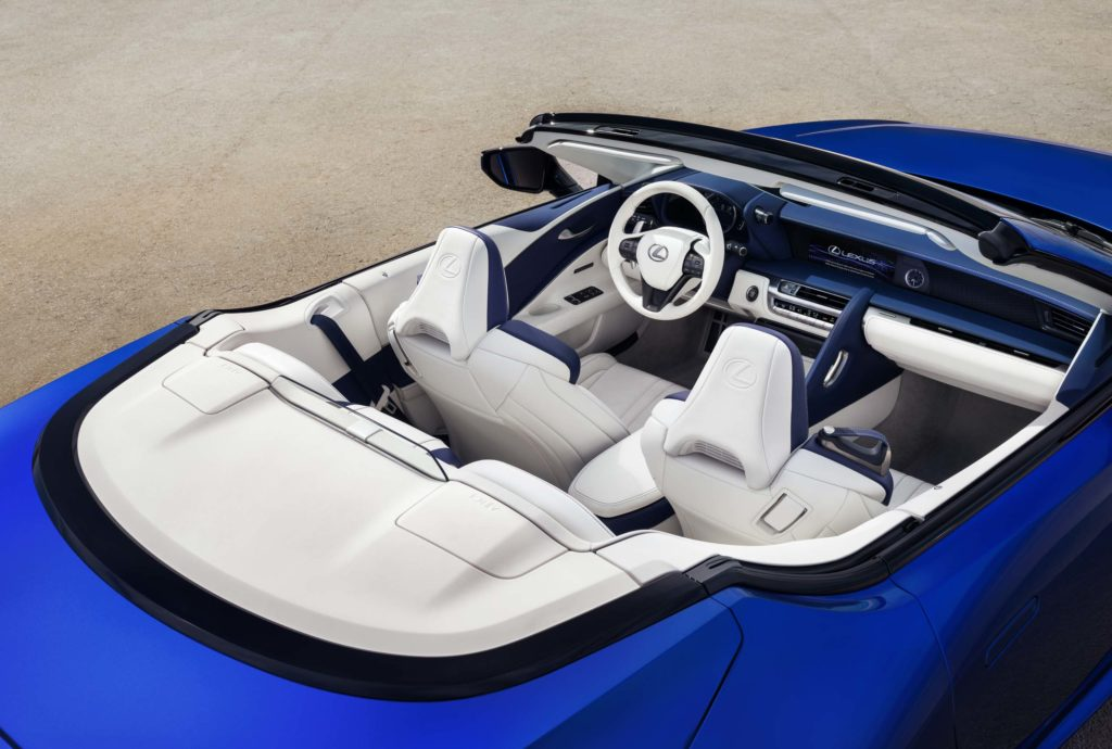 2020 Lexus LC Cabriolet   Fanaticar Magazin