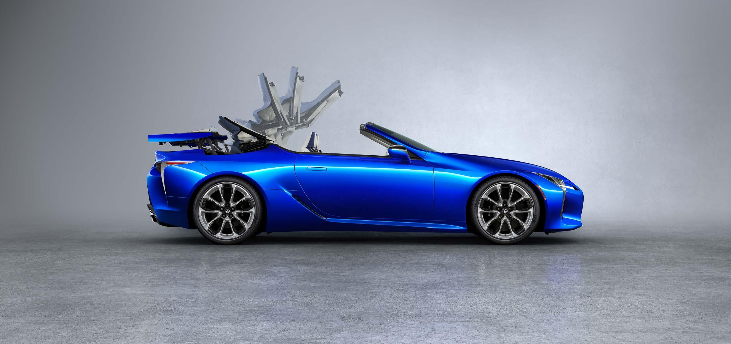 2020 Lexus LC Cabriolet | Fanaticar Magazin