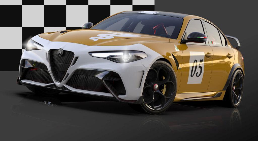 2020 Alfa Romeo Giulia GTAm Sonderlackierung | Fanaticar Magazin