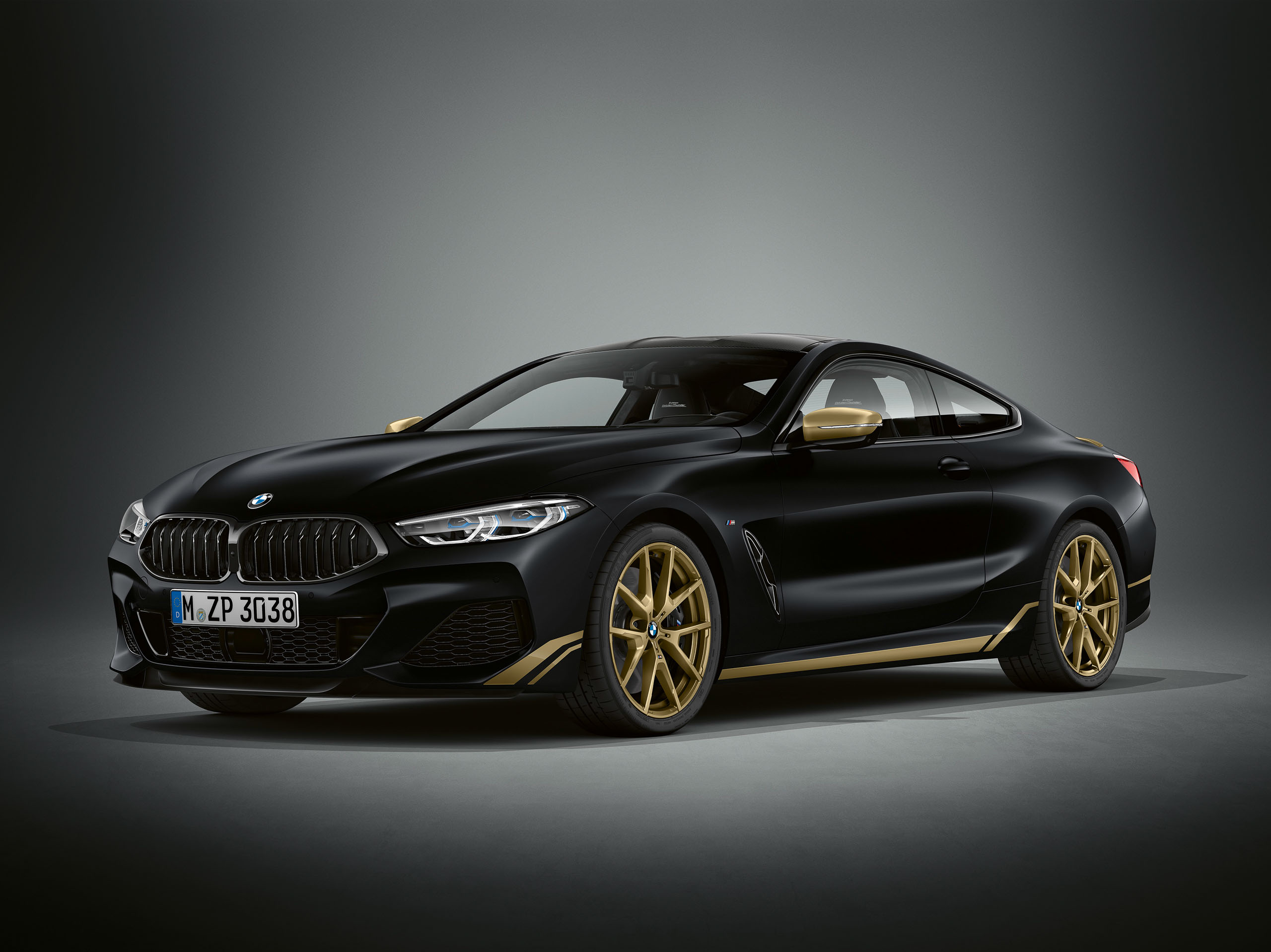 2020 BMW 8series Coupe Golden Thunder Edition