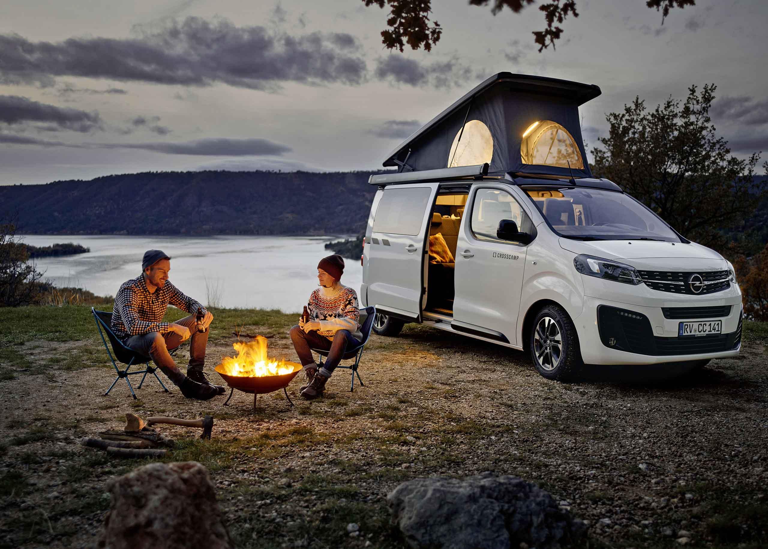 2020 Opel Zafira Crosscamp