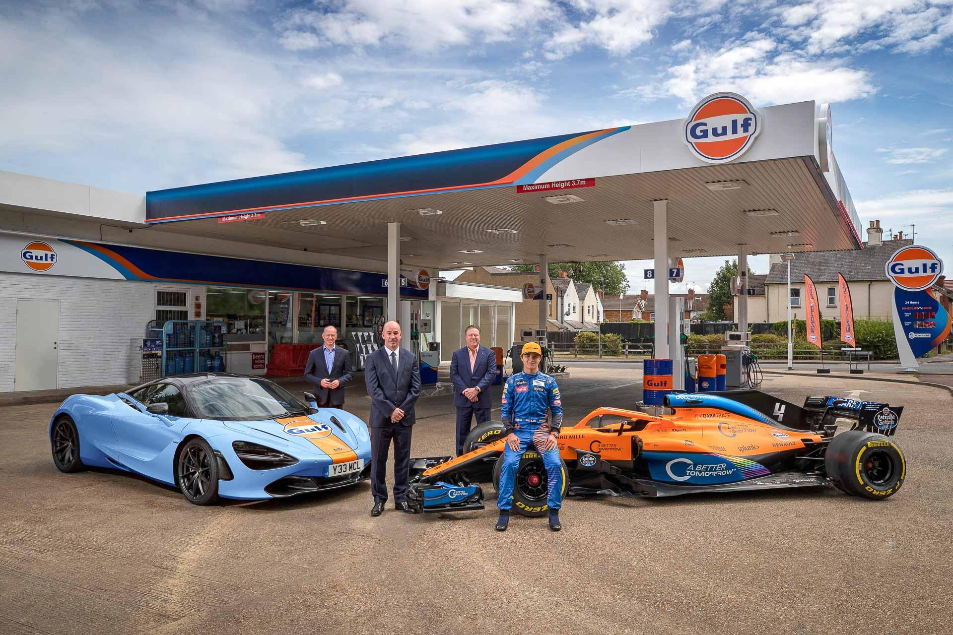 2020 McLaren Gulf   Fanaticar Magazin