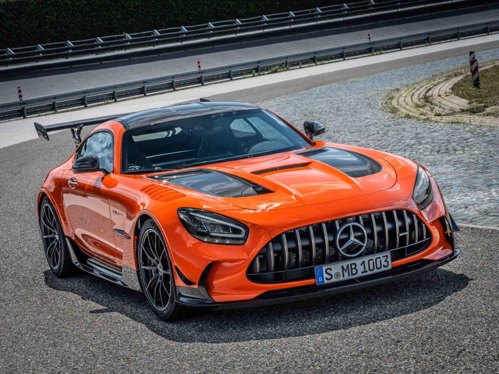 "2021 Mercedes-AMG GT Black Series ""AMG magmabeam"" | Fanaticar Magazin"