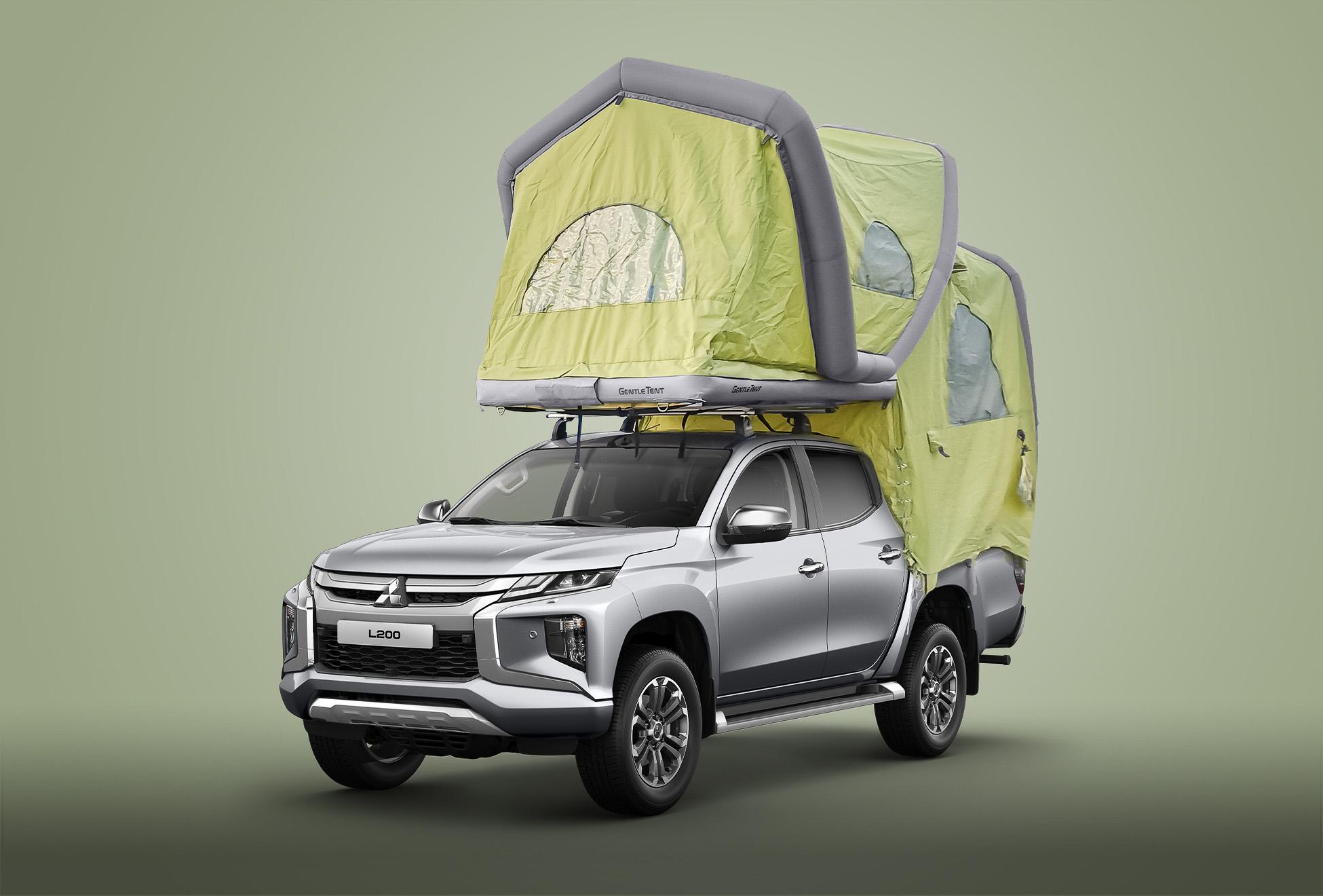 2020 Mitsubishi L200 GT-Pick Up Dachzelt   Fanaticar Magazin