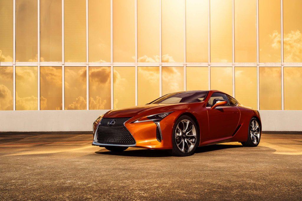 2021 Lexus LC sunsetorange | Fanaticar Magazin