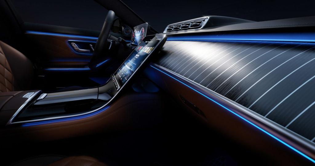 2021 Cockpit Mercedes-Benz S-Klasse | Fanaticar Magazin