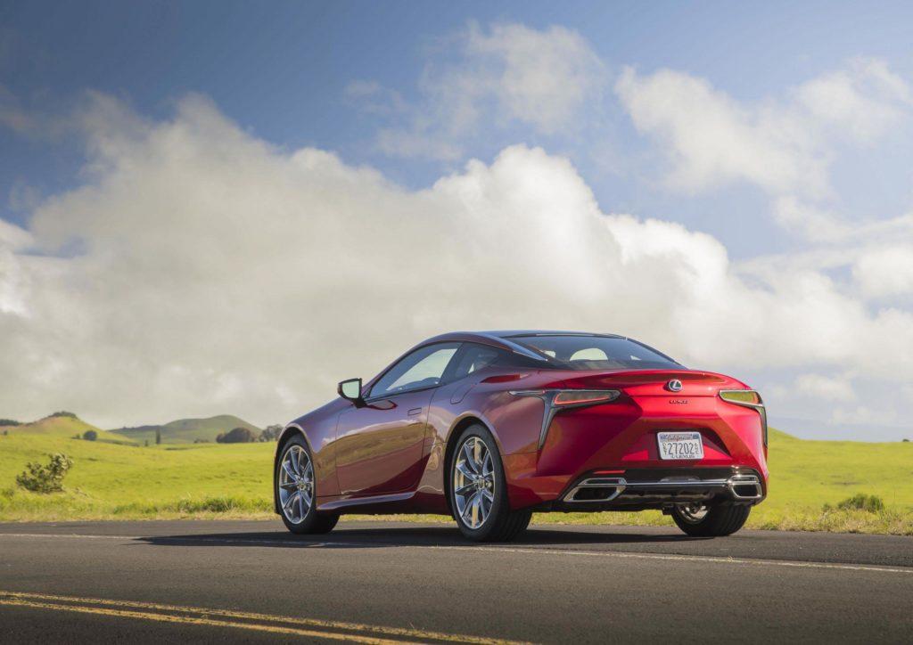 2021 Lexus LC Facelift |Fanaticar Magazin
