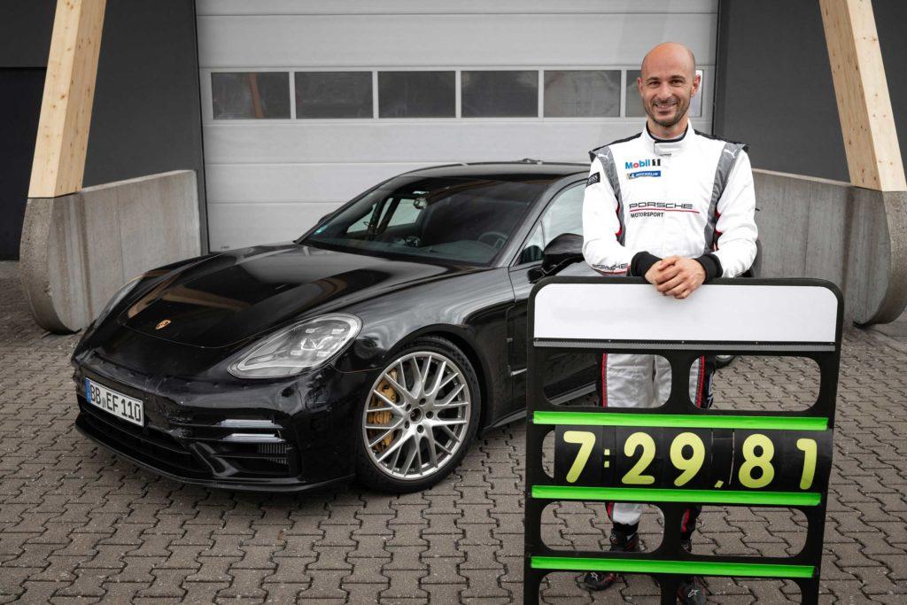 2021 Rundenrekord Porsche Panamera | Fanaticar Magazin