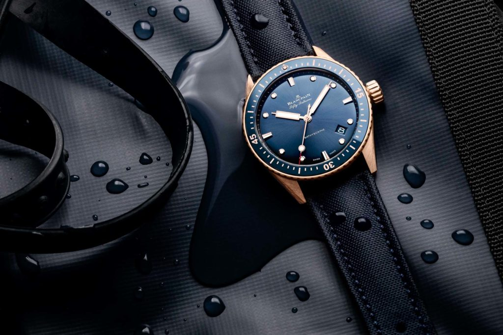 Blancpain Fifty Fathoms Bathyscaphe | Fanaticar Magazin