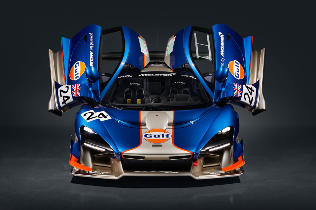 "McLaren Senna GTR LM 825/2 ""The Gulf Car"" 