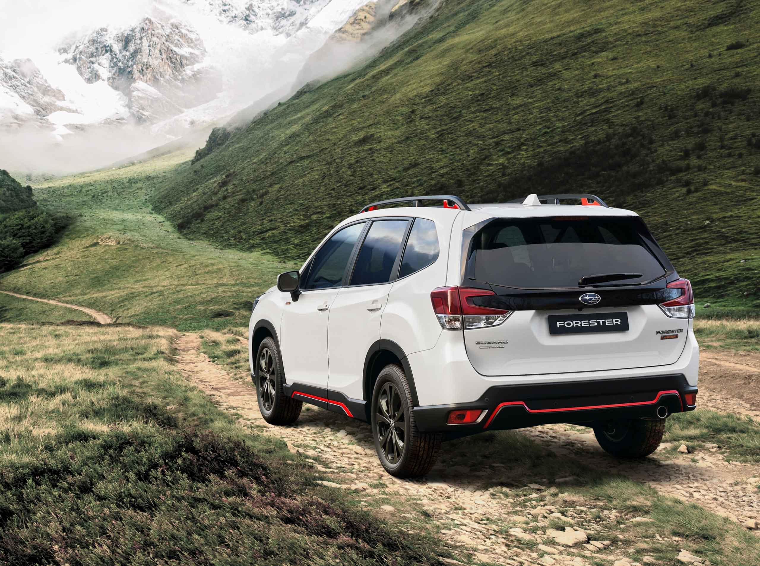 2021 Subaru Forester Edition Sport 40   Fanaticar Magazin