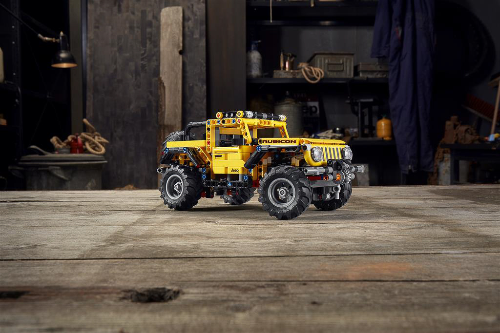 2021 Lego Technic Jeep Wrangler | Fanaticar Magazin