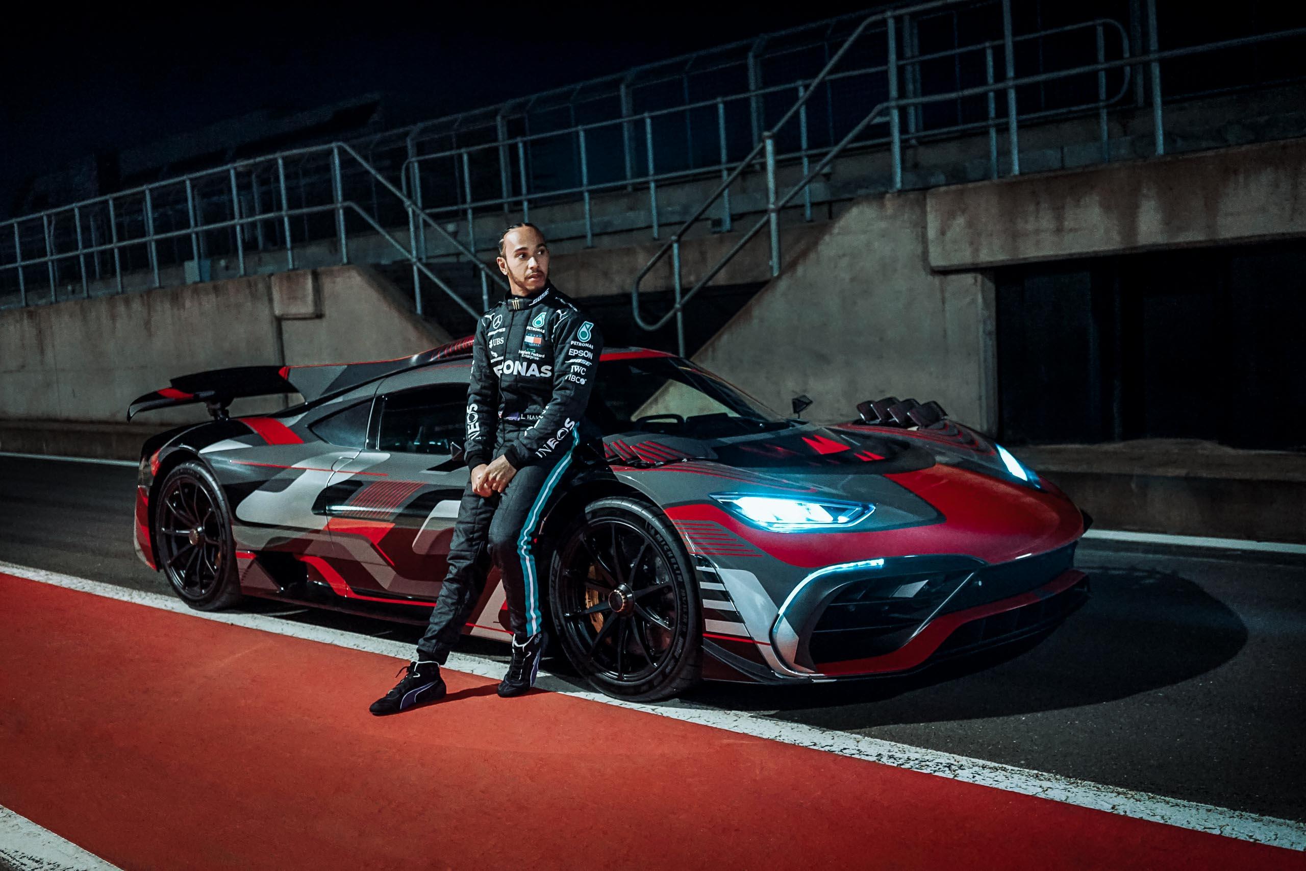 2021 Lewis Hamilton / Mercedes-AMG Project ONE   Fanaticar Magazin