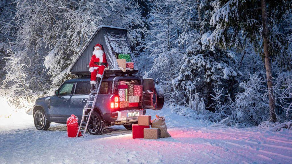 Weihnachtsmann - Land Rover Defender 110 | Fanaticar Magazin