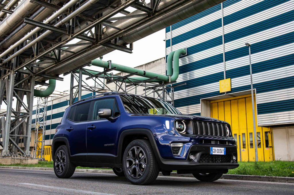 "2021 Jeep Renegade ""80th Anniversary"" 