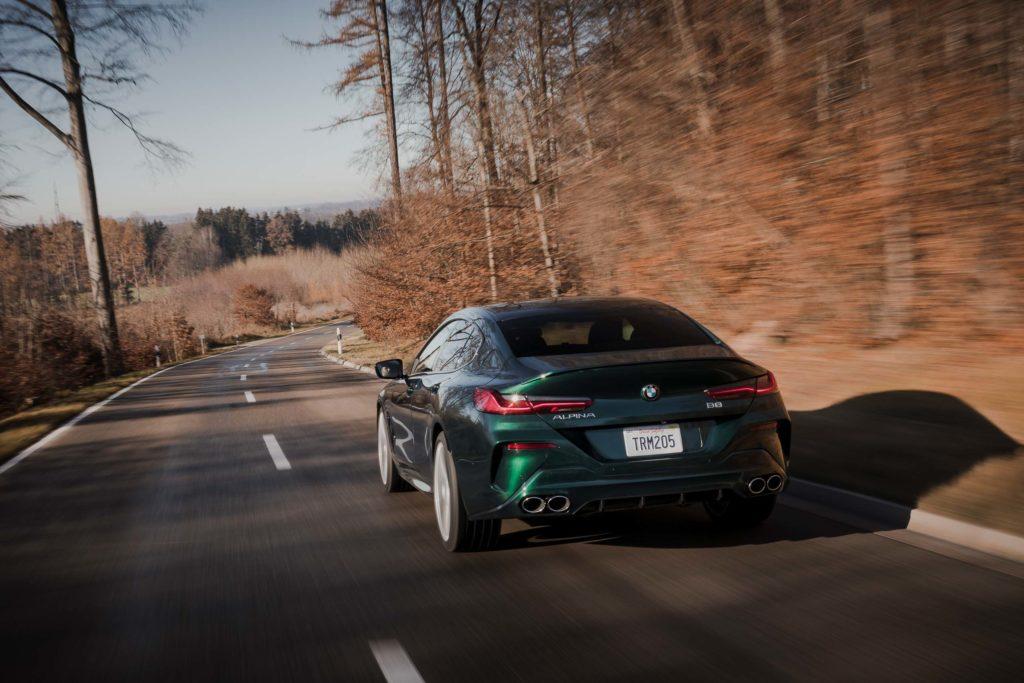 2021 BMW Alpina B8 Gran Coupe   Fanaticar Magazin