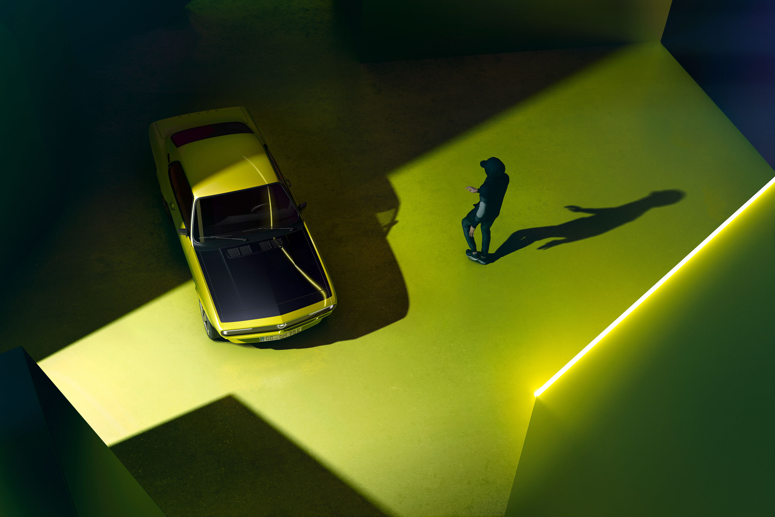 Opel Manta GSe Elektromod   Fanaticar Magazin