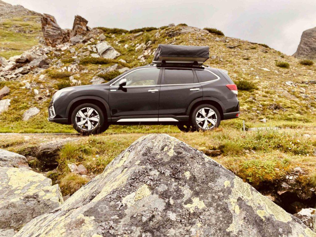 2021 Subaru Forester E-Boxer mit Horntools Dachzelt | Fanaticar Magazin