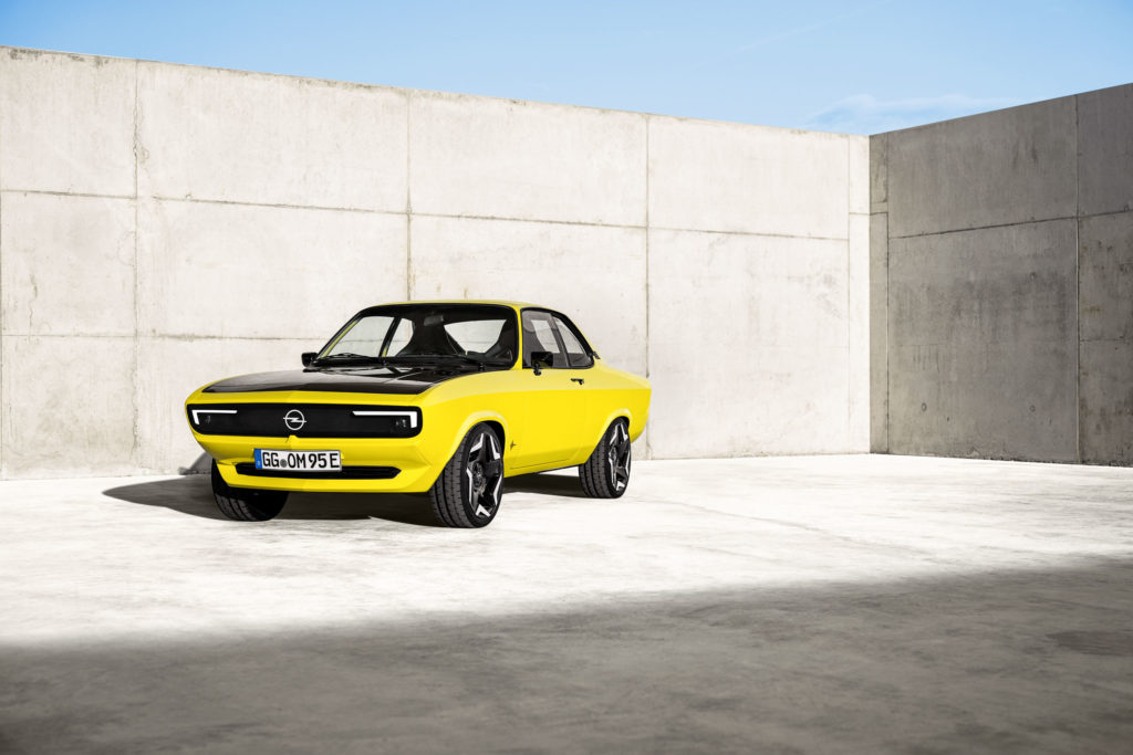 2021 Opel Manta GSe Elektromod   Fanaticar Magazin