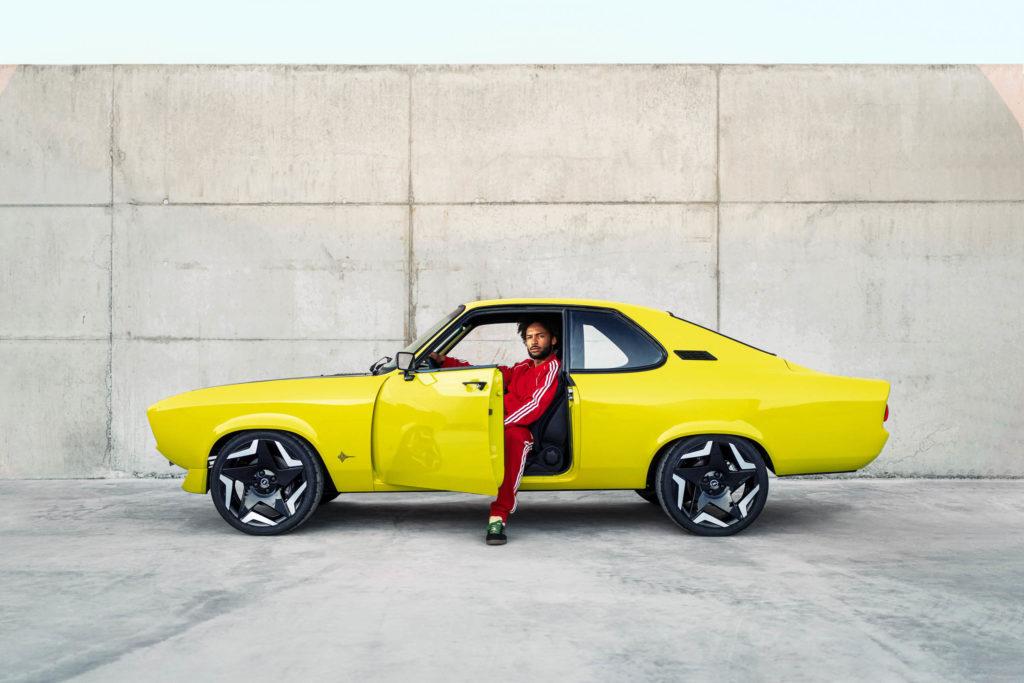 2021 Opel Manta GSe Elektromod | Fanaticar Magazin